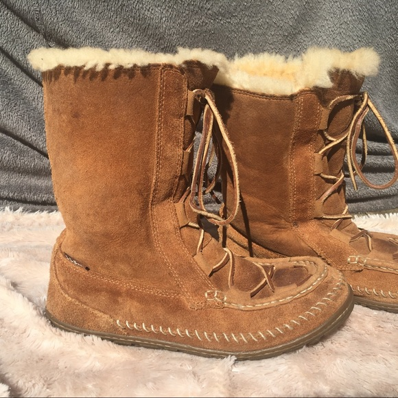 Ll Bean Womens Lace Up Winter Boots
